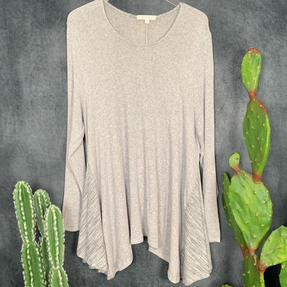Anthropologie Sweaters - 🌵Anthropologie Eri + Ali Grey Lightweight Sweater